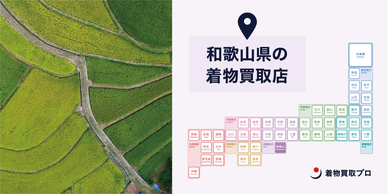 【全店比較】和歌山県・和歌山市で一番オススメの着物買取店はここ!